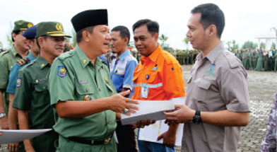 Jhonlin Group, PT. DSP, PT. JA, Penghargaan Lingkungan, Kalimantan Selatan, Tanah Bumbu, Batulicin, h isam