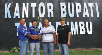 Jhonlin Group, PT. Dua Samudera Perkasa, PT. Jhonlin Agromandiri, Kalimantan Selatan, Tanah Bumbu, Batulicin, h isam